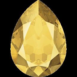 #4320 Pear 14х10 мм - Metallic Sunshine  (#METSH)