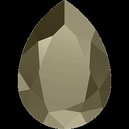 #4320 Pear 14х10 мм - Light Gold (#MLGD)