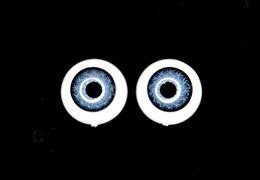 Акриловые глазки, 12 мм
