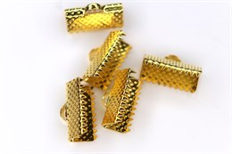 Концевик для лент 13 мм, Gold (Штука)