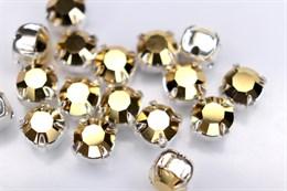 Шатон 6 мм Maxima Preciosa, Crystal Aurum (золото 24k)