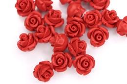 Бутон розы 12 мм, Натуральный коралл