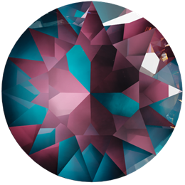 1088 Xirius Chaton SS39 - Burgundy DeLite (#001L132D)