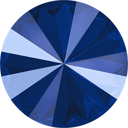 #1122 Rivoli 12mm -  Lacquer Royal Blue (#001L110S)