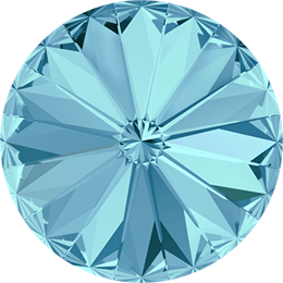 #1122 Rivoli 12mm -  Aquamarine (#202)