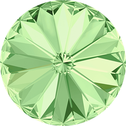 #1122 Rivoli 12mm -  Chrysolite  (#238)