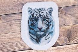 Шаблон Белого Тигра на фетре или батисте