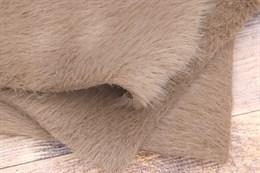 Мех искусственный серо-коричневый