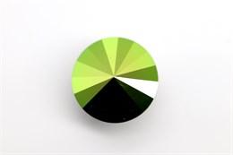 #1122 Rivoli 12 мм - Scarabaeus Green (#001SCGR)
