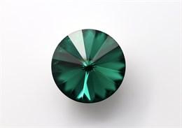 #1122 Rivoli 12 мм - Emerald (#205)