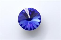 #1122 Rivoli 12 мм - Sapphire (#206)