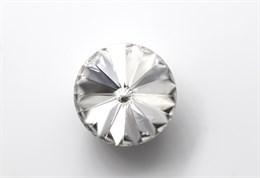 #1122 Rivoli 12 мм - Crystal (#001)