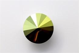 #1122 Rivoli 12 мм - Iridescent Green (#IRIG)