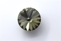 #1122 Rivoli 12 мм - Black Diamond (#215)