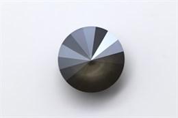 #1122 Rivoli 12 мм - Lacquer Dark Grey (#001L111S)