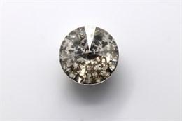 #1122 Rivoli 12 мм - Silver Patina (#001SILPA)