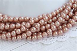 Жемчуг Preciosa Maxima 5 мм, Pearlescent Pink 20 шт