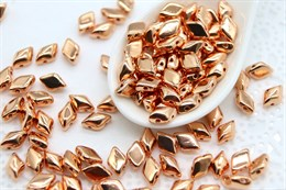 GemDuo 8x5mm - Metallic Copper Penny (#MAG03)