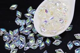 GemDuo 8x5mm - Crystal AB (X00030)