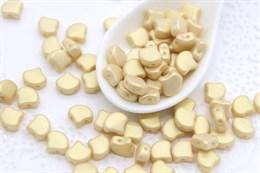 Ginkgo бусины 7,5х7,5мм-  Chatoyant Light Gold (29704AL)