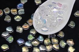 Ginkgo бусины 7,5х7,5мм- Crystal AB (X00030)