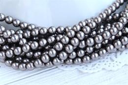 Жемчуг Preciosa Maxima 5 мм, Dark Grey 20 шт