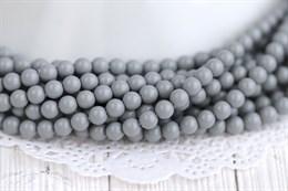 Жемчуг Preciosa Maxima 5 мм, Ceramic Grey 20 шт