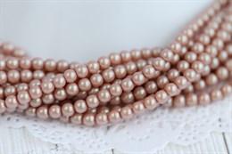 Жемчуг Preciosa Maxima 4 мм, Pearlescent Pink 20 шт