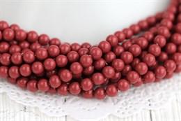 Жемчуг Preciosa Maxima 5 мм, Cranberry 20 шт