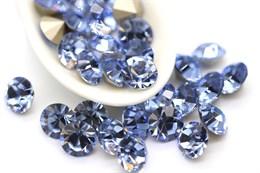 Шатоны 8 мм, Maxima Preciosa, Light Sapphire