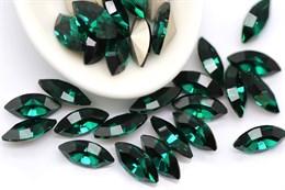 Preciosa Navette Maxima 10*5 мм - Emerald
