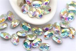 Preciosa Oval Maxima 8*6 мм - Crystal AB