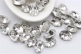 Preciosa Oval Maxima 8*6 мм - Crystal