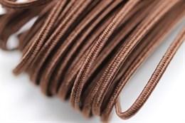 Белорусский сутаж 2,5 мм, 1 метр, коричневый (472007)