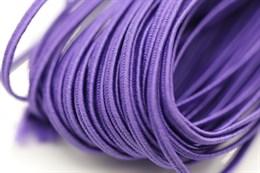 Белорусский сутаж 2,5 мм, 1 метр, фиолетовый (547109)