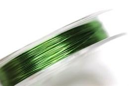 Проволока зеленая, d=0,3 мм (латунь)