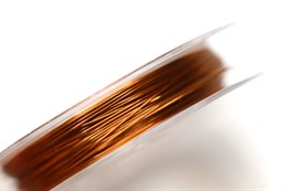 Проволока коричневая, d=0,3 мм (латунь)