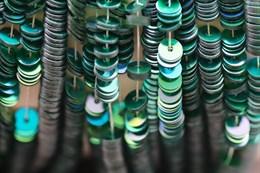 Пайетки радужный металлик 8046, 4 мм