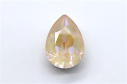 #4320 Pear 14х10 мм - Ivory Cream DeLite (#001L106D)