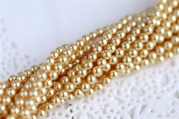 #5810 жемчуг Swarovski 3 мм Gold (#296)