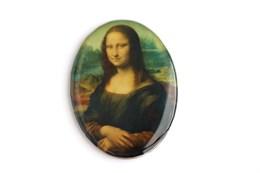 Кабошон 4*3 см Мона Лиза