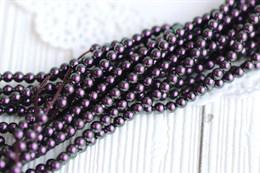 #5810 жемчуг Swarovski 3 мм Iridescent Purple (#943)