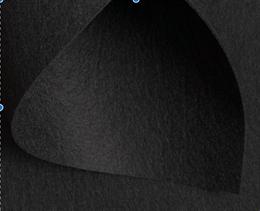 Корейский жесткий фетр 1,2 мм, Черный
