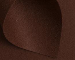 Корейский жесткий фетр 1,2 мм, Шоколадный