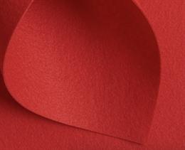 Корейский жесткий фетр 1,2 мм, Красный