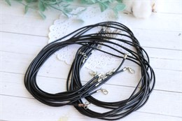 Заготовка для ожерелья из каучукового шнура