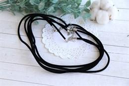 Заготовка для ожерелья из бархатного шнура