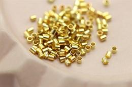 Кримпы 2х2 мм, золото, 1 грамм