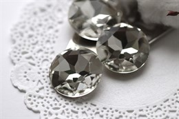 #1201 Chaton 27 мм Aurora Crystal