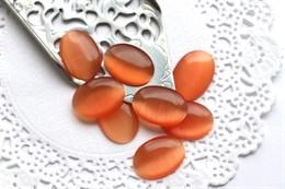 Шелковый кристалл 18*13 мм, Персиковые Румяна